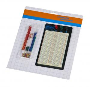 China 1660 Tie Point ABS Material 20AWG - 29AWG Breadboard And Wire Kit on sale