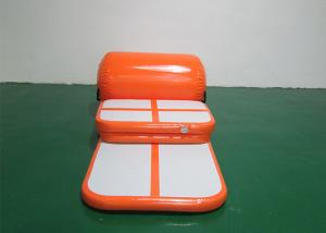 China Kids Or Adult Orange Air Track Home Set , Track Trace Air Cargo To Maldives on sale