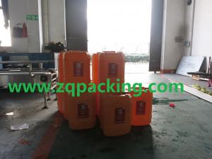 China Longway5-25L Automatic pesticide product  Jerry Can Filling Capping Machine on sale