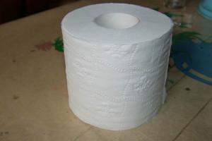 China Toilet tissue/White tissue paper 15gsm on sale