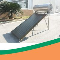 China OEM 150L Flat Type Solar Collector Evacuated Tube Solar Thermal System on sale