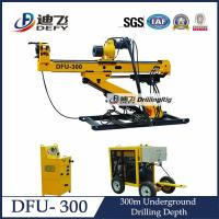 China Compact and Portable DFU-300 Horizontal Core Drilling Machine for Gold and Coal on sale