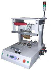 China Sliding Station Heating Soldering Machine Hot Bar Bonder For TAB ACF Wire on sale