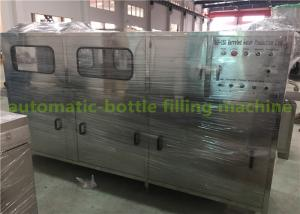 China Automatic Mineral Water 5 Gallon Bucket Filling Machine With PLC Control on sale
