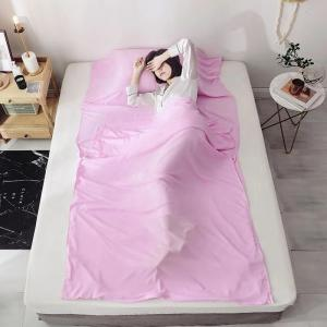 China Ultra Light Silk Sleeping Bag Liner Skin Friendly For Home / Hotel on sale
