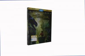China Free DHL Shipping@New Release Hot Classic Blu Ray DVD Movie The Jungle Book Movie 2016 on sale