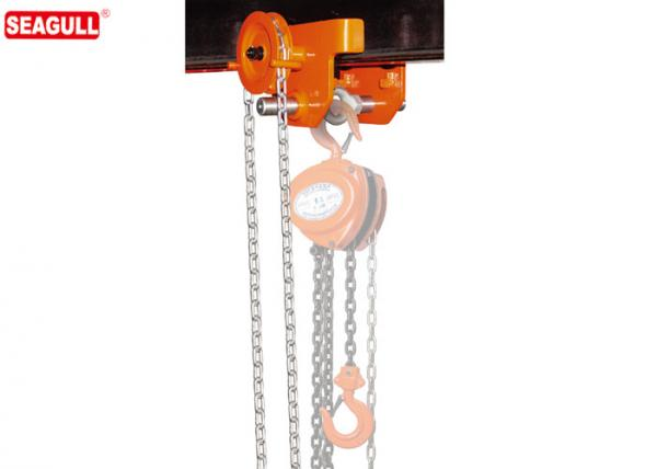 Heavy Duty Manual Trolley for Use w// Wide Flange H Beams
