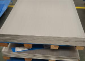 China Heavy Gauge 3mm Stainless Steel Sheet , Steel Sheet Plate For Building Construction on sale