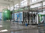 4kW 50Hz 36000GPD Purified Water Treatment System