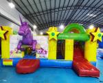 Unicorn Jumping Castle Inflatable Bouncer Slide For Festival Activity
