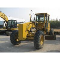 China Cat 140k Used Motor Grader Year 2014 , Push Blade Used Road Graders For Sale on sale