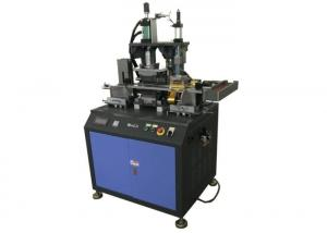 China Full automatic PVC credit card embossing machine 2.5kW Power 19 codes on sale