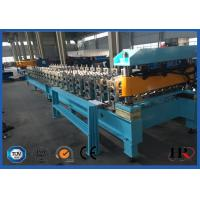 China Longer Life Steel Roof Roll Forming Machine Automatic Metal Roof Forming Machine on sale