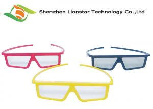 China Lightweight 3D Movies Linear Polarizer Film Plastic Polarized 3D Glasses on sale