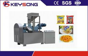China Kurkure Cheetos Nic Naks Food Processing Equipment , 100 -150kg / H  Food Product Making Machine  on sale