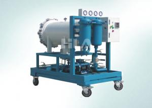 China Auto Light Diesel Fuel Oil Purifier Coalescence Separation Oil Purification Plant on sale
