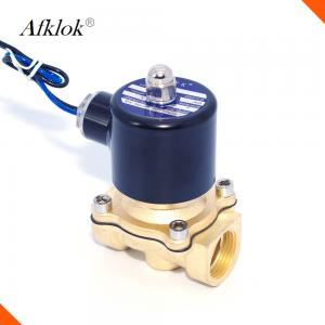 China 2W Electric Water Switch Valve , 24 Volt Arduino Controlled Water Valve 2W-160-15 on sale
