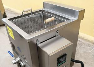 China Manual Automatic Food Processing Machines , Commercial Electric Deep Fryer on sale