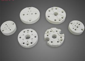 China Industrial Steatite Ceramic Round Parts with Holes Thermocouple Industry on sale