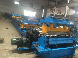China Water Storage Tank Roll Forming Equipment , Roofing Sheet Bending Machine 12 Tons on sale