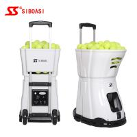 China AC Power Portable Tennis Ball Shooter Machine Horizontal Angle on sale