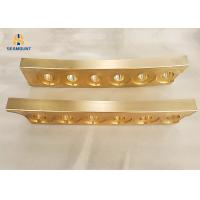 China Bronze Copper Linear Slide Rail High Temperature Resistant High Strength on sale