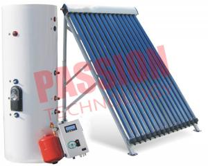 China Direct Flow Sun Power Solar Water Heater Rooftop , Split Solar Hot Water System on sale