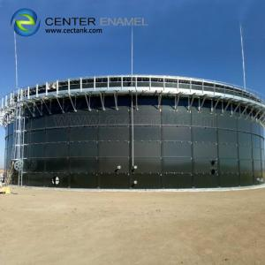 China 30000 Gallon Bolted Steel Biogas Storage Tank  Smooth Easy To Clean on sale