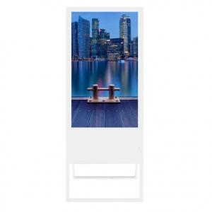 China RK3288 Price Tag 380cd/m² TFT Lcd Digital Signage Stand on sale