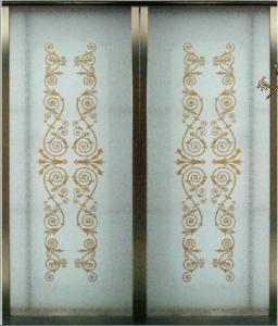 Porte Coulissante En Verre Decorative Portes Coulissantes De