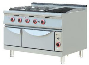 China Stainless Steel Gas Electric Oven , Gas Range Cookers For Restaurant / Hotel on sale