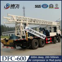 China DFC-600 Truck Mounted Water Well Drilling Machine for Sale on sale