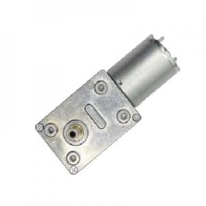 China 12V DC Worm Gear Motor , Garden Tool Worm Gear Motor 12V High Torque on sale