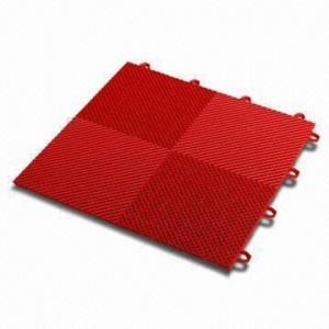 Interlocking Garage Floor Tiles Made Of High Impact Polypropylene
