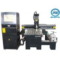 China Longlife Durable Cnc Wood Router Carving Machine 4 Axis 6090 With Rotary on sale