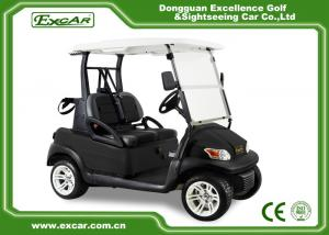 China EXCAR Black Seat EXCAR Golf Cars Unique USA Key For 2 Person/Trojan Battery on sale