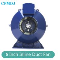 China Smooth  Powerful Airflow 2500rpm 5 Inch Inline Centrifugal Duct Fan on sale