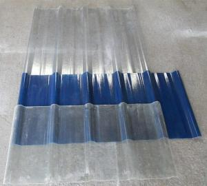 China Upvc Transparent Roofing Sheets 60% Translucent Clear Colorful Polycarbonate on sale