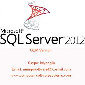China English Computer Software System SQL Server 2012 Standard on sale