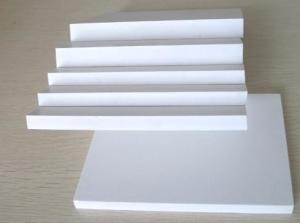 China 5mm - 35mm Hygeian PVC Foam Board Custom White Foam PVC Sheet Water Resistant on sale