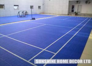 Polypropylene Outdoor Sport Tile For Futsal Court Flooring Field Soccer 250mm