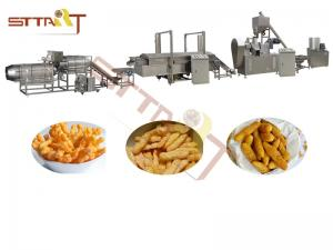 China CE ISO Extrusion Kurkure Making Snack Production Line Twin Screw Extruder on sale