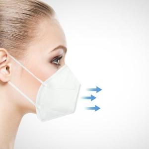 China Pm2.5 Kn95 N95 Face Mask Breathable Respirator Disposable Dust Proof on sale