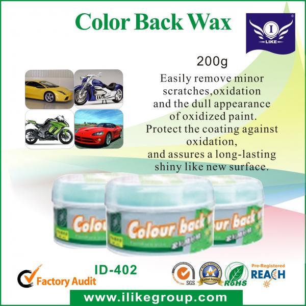 Auto Color Back Car Wax Protection
