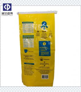 China Waterproof Plastic Polypropylene Feed Bags Woven Packaging Bags Color Printed on sale