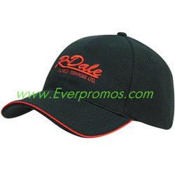 China Double Pique Mesh Hat with Open Sandwich Bill on sale