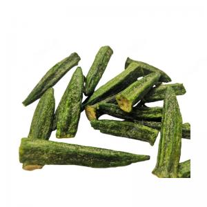 China Factory Direct Sale Mexican Okra Chips Dried Vf Okra on sale