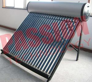 China Bathing Solar Hot Water Tubes Systems , Solar Roof Water Heater Non Pressure on sale