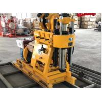 China Rotary 200m Oil Gas Core Portable Borehole Drilling Machine on sale