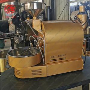 China Single Phase Food Processing Machine 1kg/Batch Coffee Bean Roaster on sale